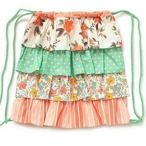 Matilda Jane In the Ruffles Drawstring Backpack
